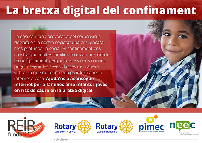 La bretxa digital del confinament